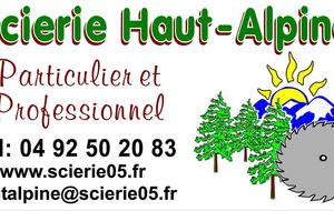 SCIERIE HAUT ALPINE